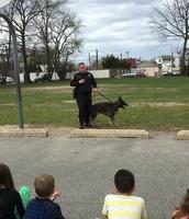 Police Dog Visit!
