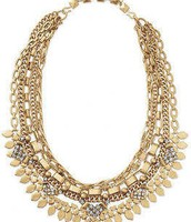Sutton Necklace - Gold