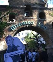 Artistic Shot of the Mission Inn