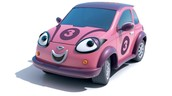 And if you order now you can get a girl roary toy car!