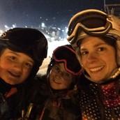 """""""Slope Selfies"""" at Ski Club"""