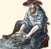 1849 - Gold rush starts