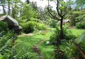 """Helen along with Scott Nearing: Lasting and Well-balanced """"Permaculture"""" Pioneers"""