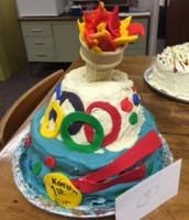 Cake Decorating for Spring Fling!