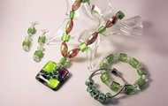 Green and Orange Jewelry