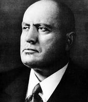ראש הממשלה ה-40 של איטליה, בניטו מוסוליני