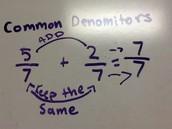 Common Denomoters- How to
