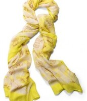 Palm Springs Scarf/Sarong - Citrine Floral