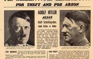 Wanted Poster of Adolf Hitler