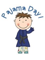 Pajama Day is Tomorrow, Weds.!