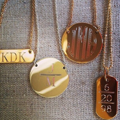 PERSONALIZE WITH SPECIAL INITIALS, DATES, AND WORDS