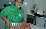 kebab/tomato/onion