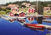 Típica vila sueca