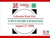 2016 Nebraska State Fair 4-H Culinary Challenge Contest