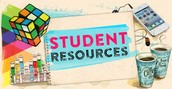 Student Resources and Library Media Webpages