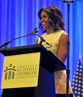 The First Lady at our 2014 conference!