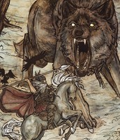 Fenrir contra Odin