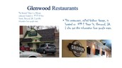 Glenwood Restaurants