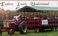 take an education wagon ride!