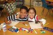 Kids in need foundation fue establecido en 1995 por la industria oficina y útiles escolares.