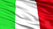 The Italy Flag