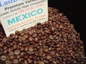 Coffee produced in Mexico
