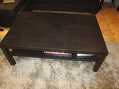 (not available yet) Ikea Hemnes Black End/Coffee Table £25