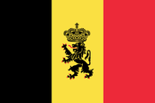 Variation of Belgian flag