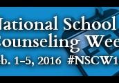 Celebrate National School Counseling Week Feb 1-5 2016