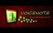 Chrome App -  Voice Note II: Speech to Text