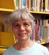 Joyce Landau, school library teaching assistant