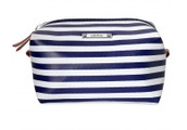 Spend $50 and I will throw in this fabulous navy stripe cosmetic pouf!