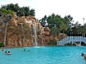 Grand Floridian slide pool