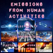 Emissions from Human Activities