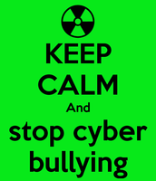 A Cyber Bullying Poster