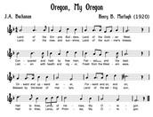 Oregon song
