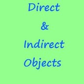 CHAPTER 5: COMPLEMENTS - DIRECT AND INDIRECT OBJECTS, SUBJECT COMPLEMENTS
