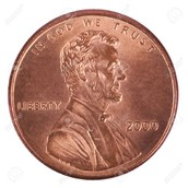 Lincoln on the penny