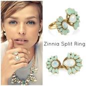 Zinnia Split Ring