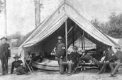 Civil War Medical Tents