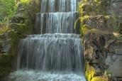 Cascade = water falling