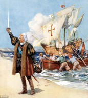 Arrival of Columbus to America