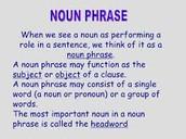 ~Noun Phrases~