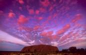 sunsets at kata tjuta