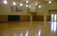 In door basketball court