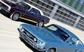 1967 Mustang vs. 1967 Camaro