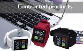 Smartwatch Bluetooth Smart Watch U8 WristWatch digital sport watches for IOS Android Samsung phone