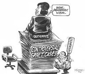 graft political cartoon