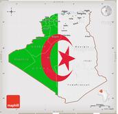The Flag of Algeria
