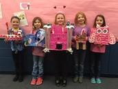 Mrs. Macke's Winning Valentine Creators!